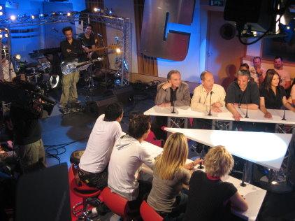 Reportage sur l`émission Cauetivi avec Gérard Rinaldi et Jean Sarrus